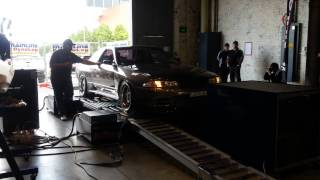 J3TLAG R32 dyno run at Showcased 2013