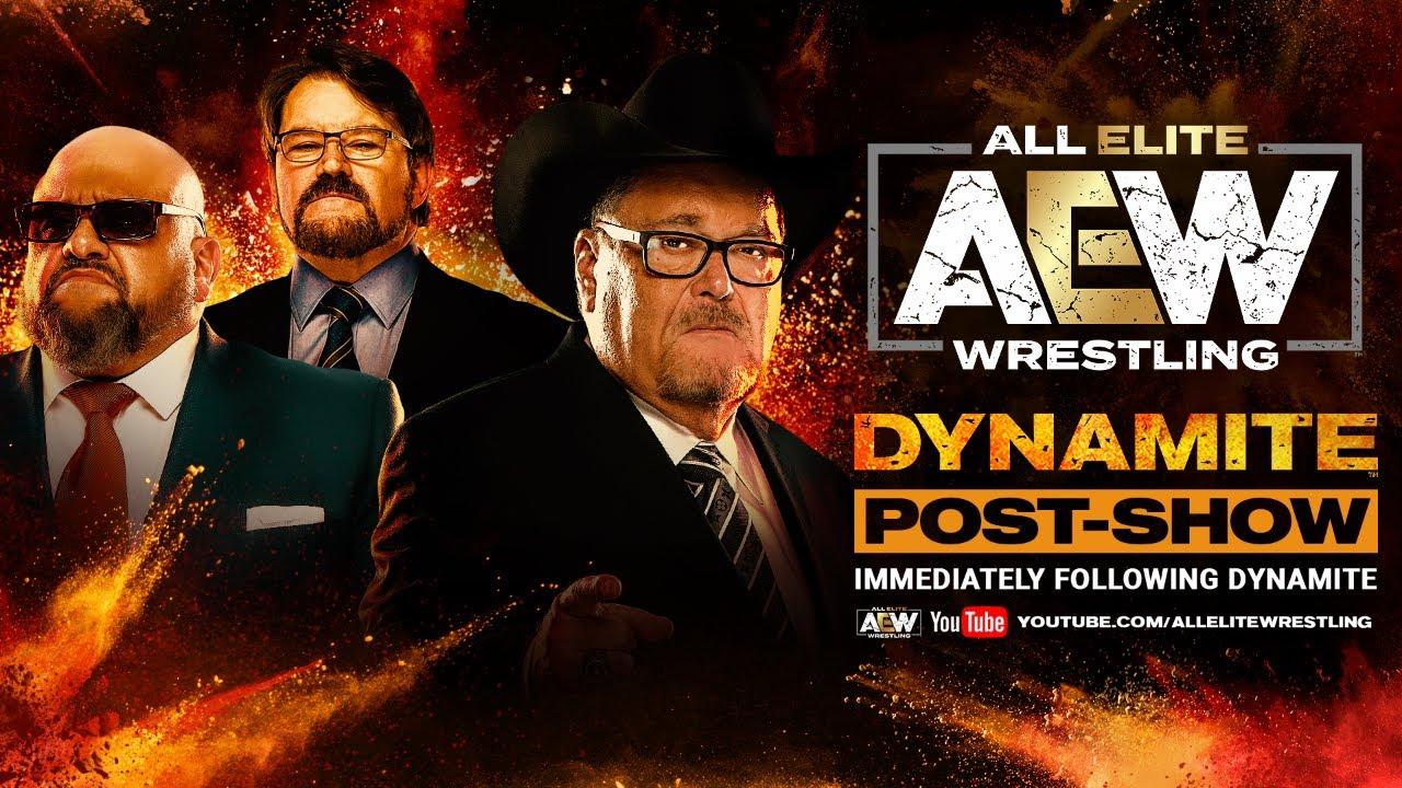 AEW Dynamite Post-Show w/ Jim Ross, Taz and Tony Schiavone | 08/05/20