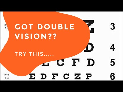 Got Double Vision?  TryThis