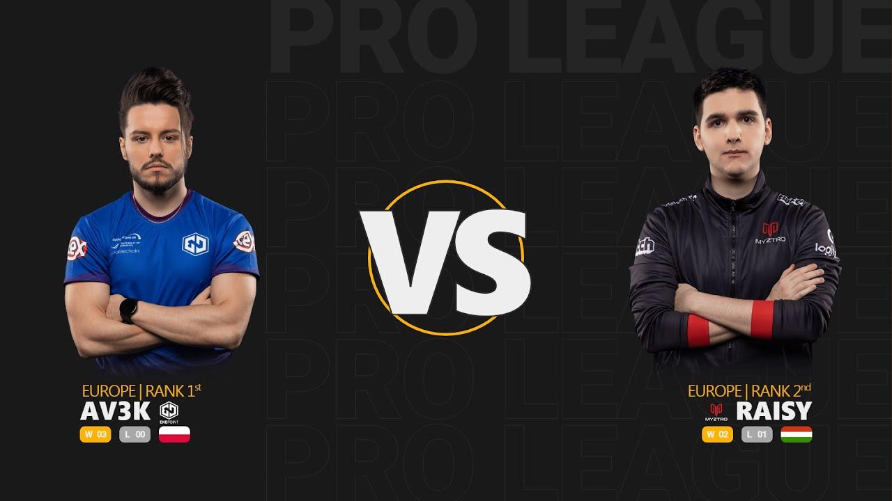 Av3k vs RAISY - Quake Pro League - Stage 1 - Week 3