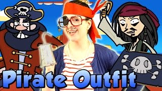 DIY Pirate Outfit Craft - Eye Patch, Hook & Headband | Crafts with Crafty Carol at Cool School