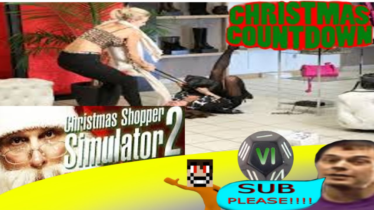 EXTREME Christmas Shopping! - Christmas Shopper Simulator ...