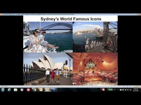 Webinar on Sydney and New South Wales - 22nd June 2016