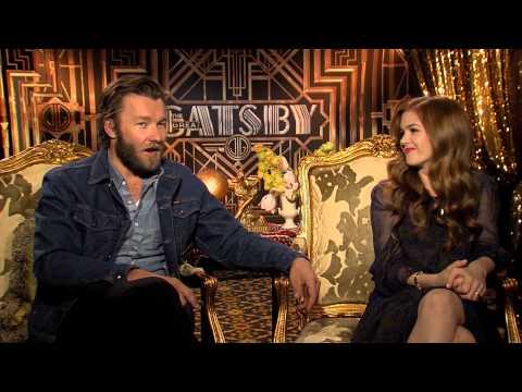 Isla Fisher & Joel Edgerton Interview - The Great Gatsby - Leonardo DiCaprio, Tobey Maguire (2013)