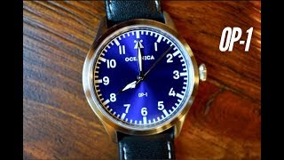 Oceanica OP 1 Automatic Flieger Watch : Pilot Watch incredible price ( FIRST LOOK )
