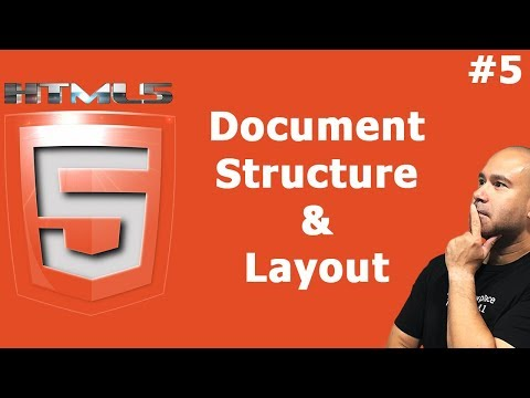 HTML Document Structure & Layout Tutorial for Beginners thumbnail