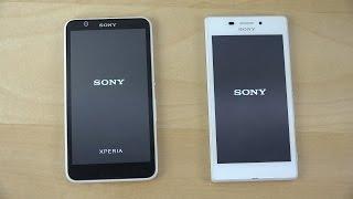 Sony Xperia E4 vs. Sony Xperia M2 Aqua - Which Is Faster? (4K)