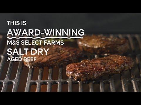 M&S   Salt Dry Aged Beef