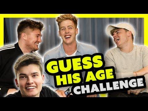 HOW OLD CHALLENGE?! AWKWARD FORFEIT ft JACK MAYNARD & Mikey