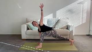 30 Minute Grounding Yoga Flow