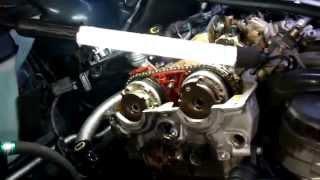 Замена цепи ГРМ БМВ 316 Ti замена N42 в цепи ГРМ BMW N42 316 Ti