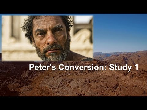 "Peter's Conversion Study 1 ""Answering the Call"""