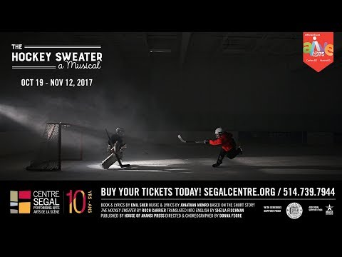The Hockey Sweater: A Musical - World Premiere