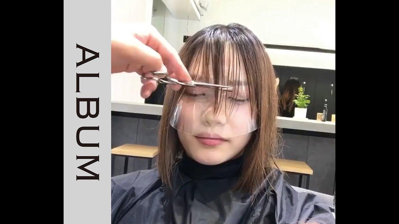 ☆バングカット☆ おしゃれでかわいい前髪に!(前髪カット動画) 【ヘア
