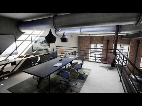 ILA - Industrial Loft Apartment - Unreal Engine 4 Archviz Virtual Tour
