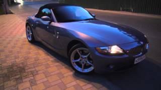 Как  снять красавицу с бордюра? У  BMW Z4 клиренс 11 см!!!