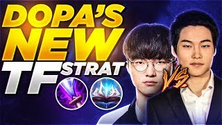 DOPA USED THIS *NEW TF STRATEGY* AGAINST FAKER | BEST TWISTED FATE WORLD
