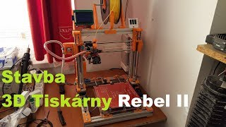Stavba 3D tiskárny Rebel II - 11 (Montáž elektroniky a zdroje)