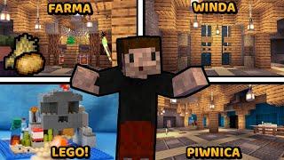ZMIANY! - Minecraft: KWADRATOWA MASAKRA + LEGO: Minecraft