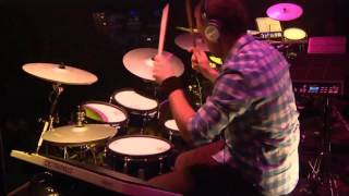 #01 Florian Koch from Austria; V-Drums World Championship 2012