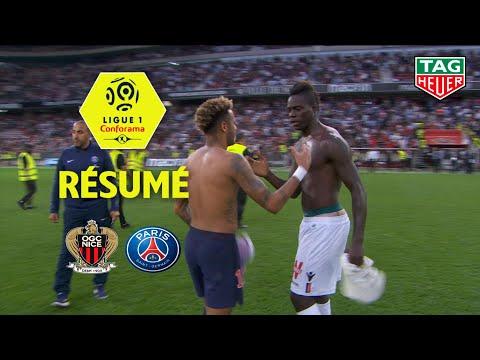 OGC Nice - Paris Saint-Germain ( 0-3 ) - Résumé - (OGCN - PARIS) / 2018-19