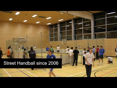 "Street Handball was founded 2006 to a ""Street Sport for Europe"" seminar Germany"