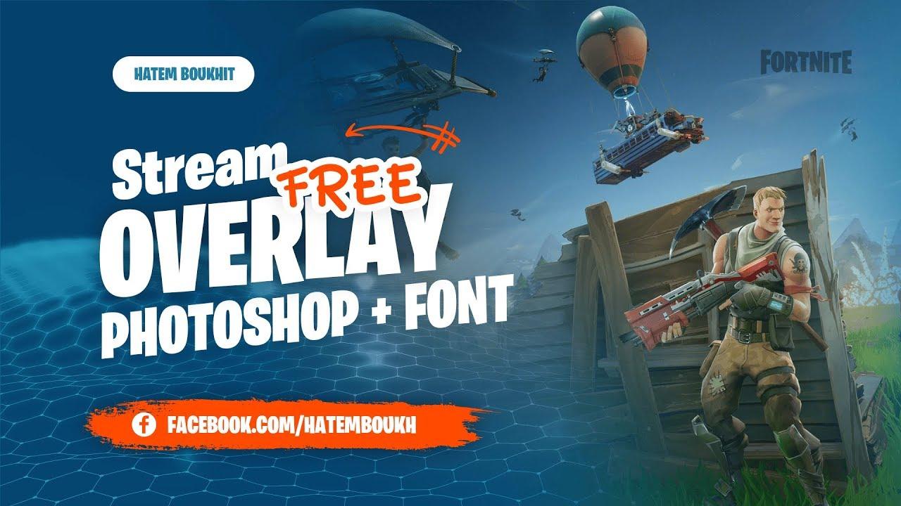 Fortnite Stream Overlay Template - FREE Download #fortnite