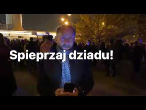 Kamil Durczok na proteście #StrajkKobiet #piekłokobiet