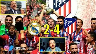 MI ENFADO BRUTAL. FLORENTINO PÉREZ ESPABILA! · REAL MADRID 2-4 ATLÉTICO DE MADRID