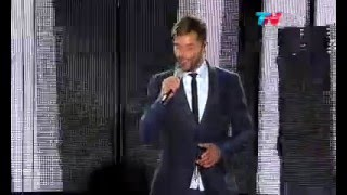 ricky martin mr put it down this is good estádio velez argentina noche 1