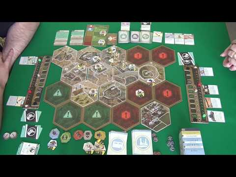 Fallout. Настольная игра 2/2 часть - играем в настольную игру.
