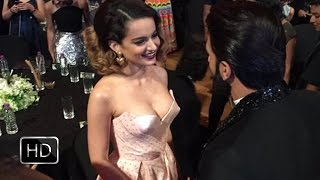Kangana Ranaut Caught Flirting With Ranveer Singh At Last Night's GQ Party