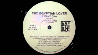 The Egyptian Lover - I want cha (LP Version)