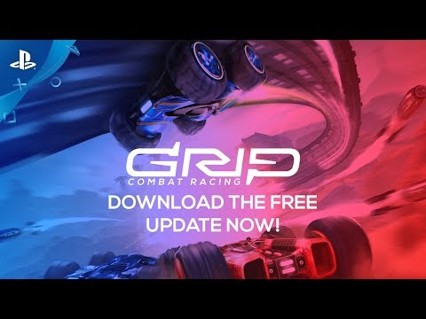 GRIP: Combat Racing - Team Mode Trailer   PS4
