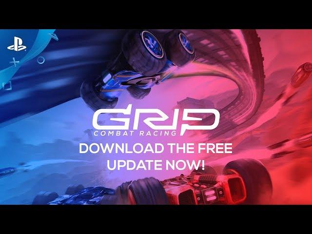 GRIP: Combat Racing - Team Mode Trailer | PS4