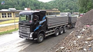 Video Man TGX and Volvo FH tridem unload stone download MP3, 3GP, MP4, WEBM, AVI, FLV Desember 2017