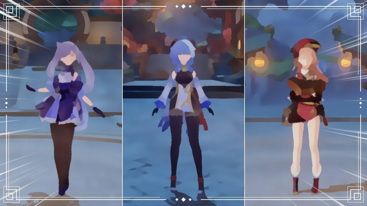 Download Genshin Impact WORST Graphics Gameplay (CAN YOU IDENTIFY YOUR WAIFU/HUSBANDO?) Zhongli Yanfei Eula