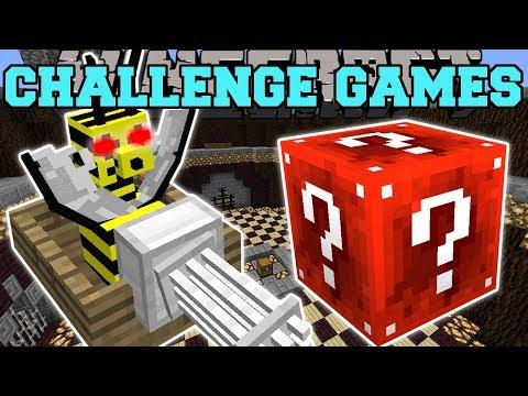 Minecraft: FLOAT BEE GUNNER CHALLENGE GAMES - Lucky Block Mod - Modded Mini-Game