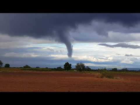 Tornado en rioverde slp  impresionante