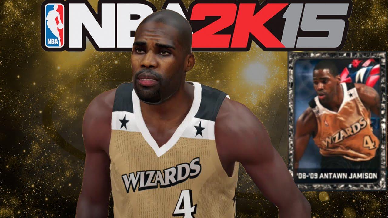 NBA 2K15 How to Easily Create yx Antawn Jamison