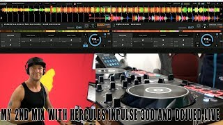 My 2nd EDM-Mix with Hercules Inpulse 300 & DJUCED