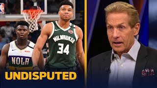 Skip Bayless reacts to Zion Williamson facing Giannis Antetokounmpo last night | NBA | UNDISPUTED