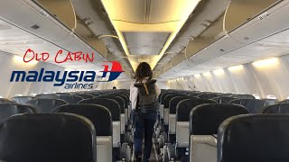 Malaysia Airlines Old Boeing 737-800 | Kuala Lumpur to Jakarta | MH711