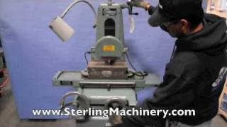 "6"" x 12"" Used Harig Surface Grinder, Mdl. Super 612, Magnaloc Electromagnetic Chuck W/ Variable ..."