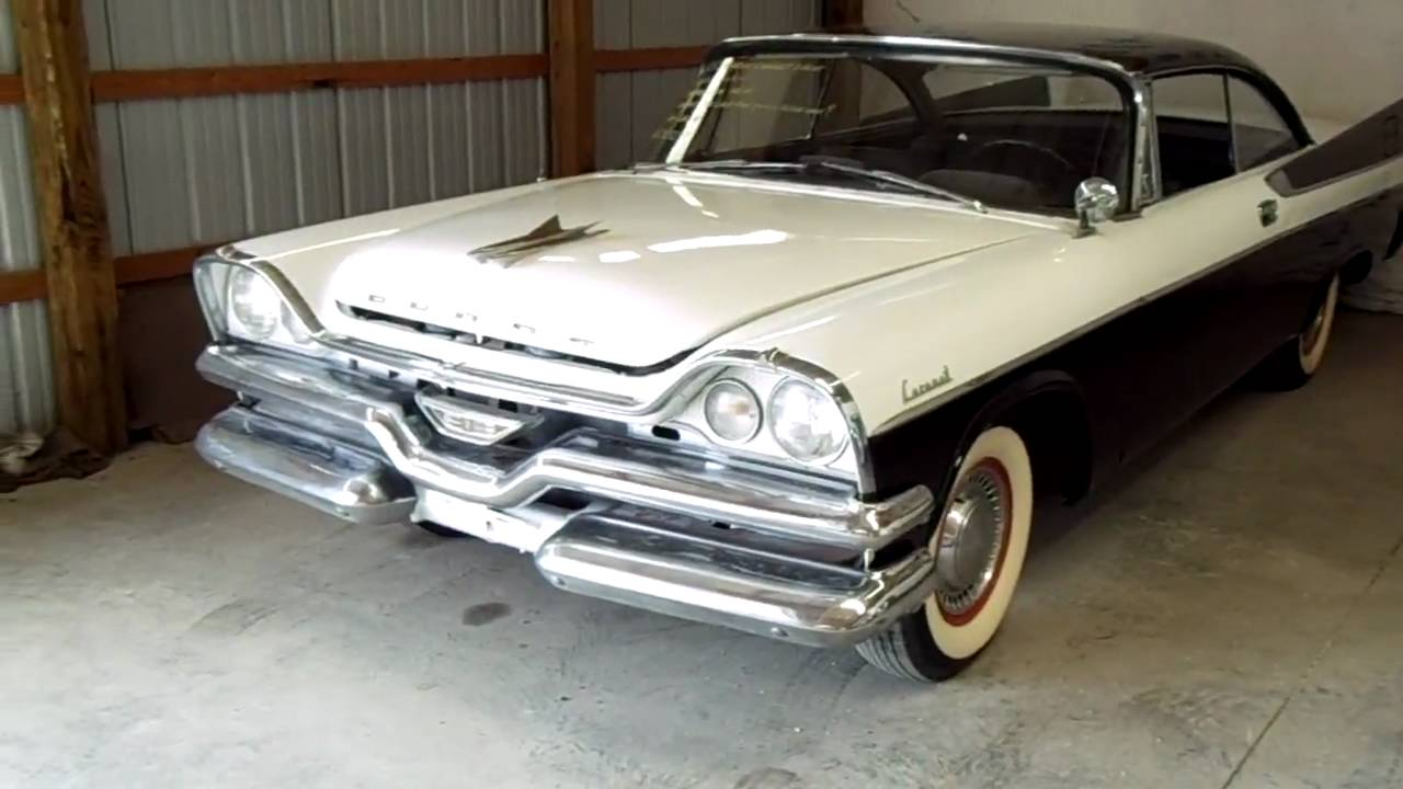 1957 Dodge Coronet 2 dr Hardtop Vintage Clic Car - YouTube