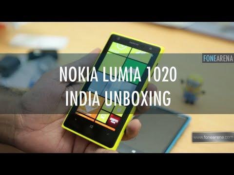 Nokia Lumia 1020 Unboxing in India