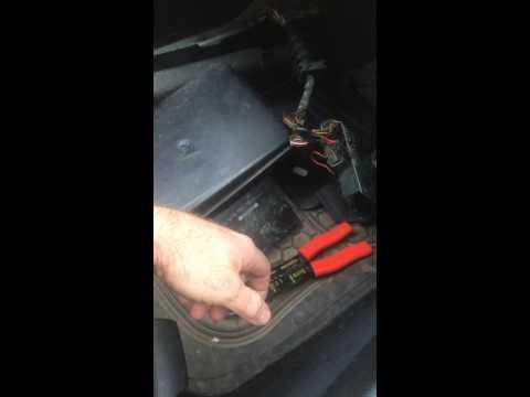 VW Wet Carpet Water in Footwell Problem Fix Hazards Interior light Central Locking mPower Windows