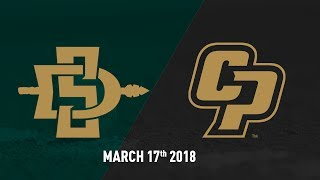 Cal Poly vs. San Diego State University, Baseball Highlights -- March 17, 2018