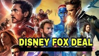 Disney and Fox Deal Latest News...World Biggest Deal