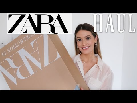 ZARA HAUL & TRY ON NEW IN WINTER 2019 | UNBOXING | MODEL MOUTH